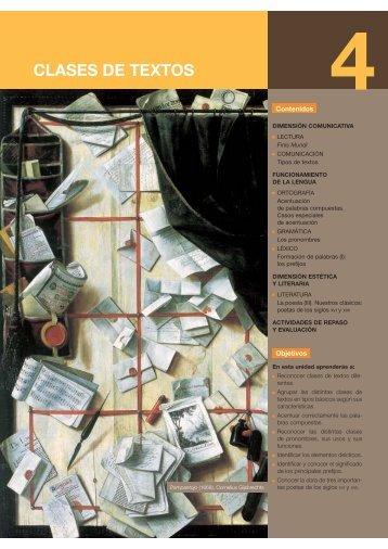CLASES DE TEXTOS - Castellnou Edicions