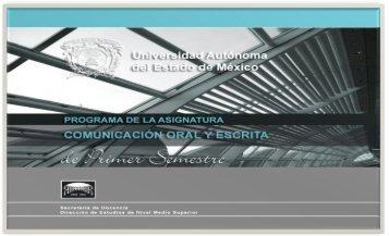 comunicacion oral y escrita 2012 - Universidad Autónoma del ...