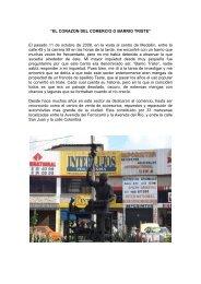 el corazon del comercio o barrio triste - Agora.unalmed.edu.co