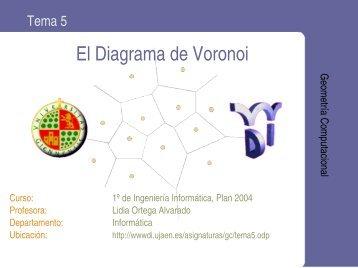 El Diagrama de Voronoi - Departamento de Informática