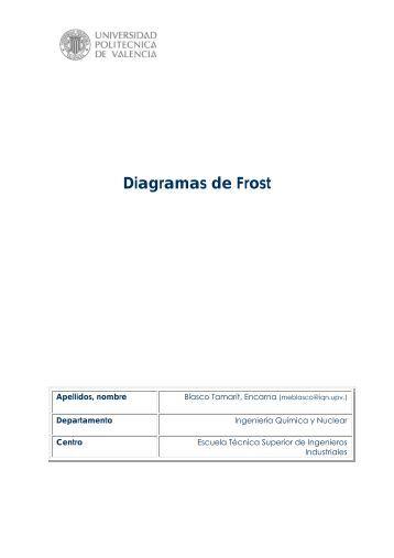 Diagramas de Frost - RiuNet