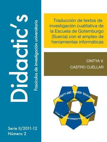 DIAGRAMADO REVISTA CINTYA CASTRO CUELLAR.indd - Didactics