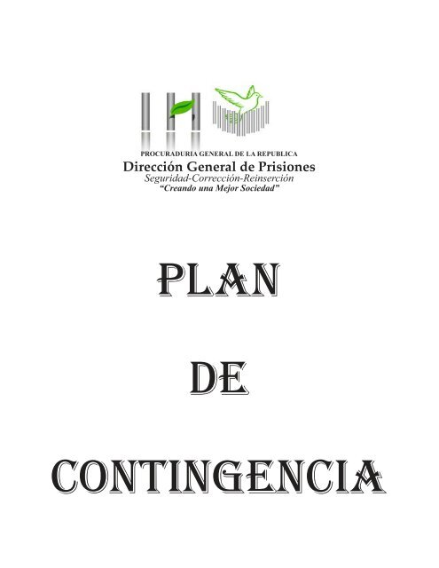 PLAN DE CONTINGENCIA DIAGRAMADO PRIMERA PARTE.pmd