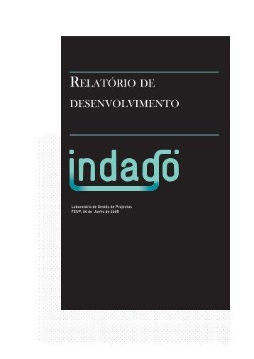 RELATóRIO DE DESENVOLVIMENTO