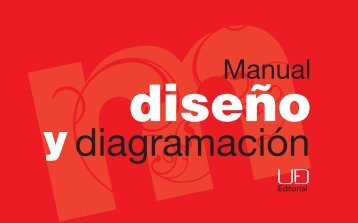 Manual de diseño y diagramación - Editorial