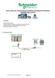 Profibus Modicon Premium ATV71_VW3A3E307 - Schneider Electric
