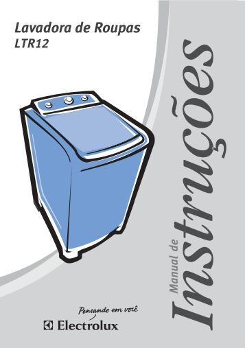 Lavadora de Roupas - Electrolux