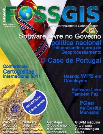 Edição 03 – Setembro de 2011 - Revista FOSSGIS Brasil