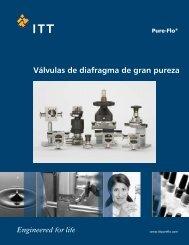 Válvulas de diafragma de gran pureza - Pure-Flo