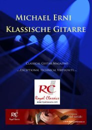 Michael Erni Klassische Gitarre
