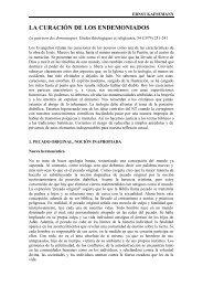 LA CURACIÓN DE LOS ENDEMONIADOS - Selecciones de Teologia