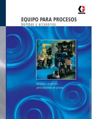 EQUIPO PARA PROCESOS - Graco Inc.