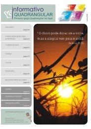 Informativo Quadrangular - Junho - I.E.Q Itajaí