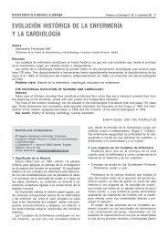evolución histórica de la enfermería y la cardiología - Asociación ...