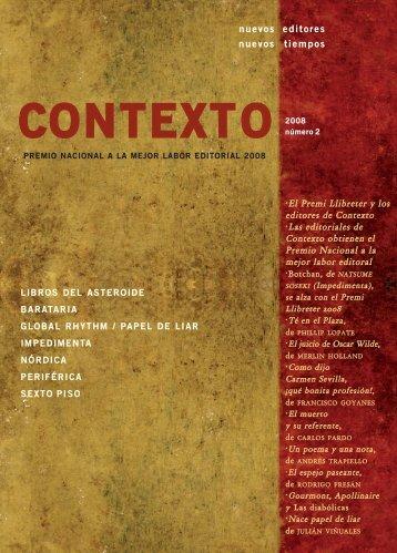 Documento - contexto de editores