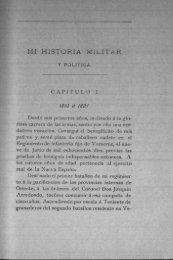 MI HISTORIA MILITAR - Bicentenario