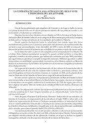 la cofradía de santa ana a finales del siglo xviii y principios del xix