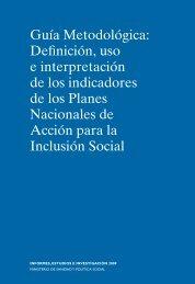 Guía Metodológica: Definición, uso e interpretación de los