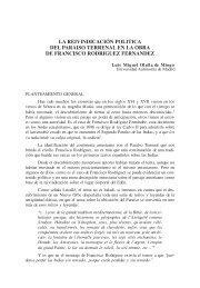 La reivindicación política del Paraíso Terrenal en la obra de ...