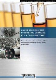 cuves en inox pour l'industrie chimique et la construction - Rieger ...