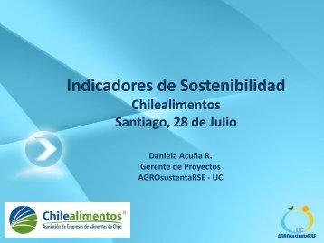 APL II Daniela UC - Chilealimentos