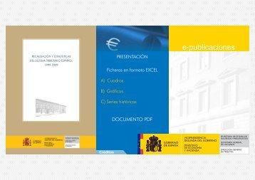 Recaudación y Estadísticas del Sistema Tributario Español