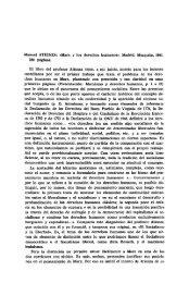 Manuel ATIENZA: cMarx y los derechos humanos •. Madrid ...