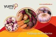Descargar Catálogo en PDF - acerca de yumi foods