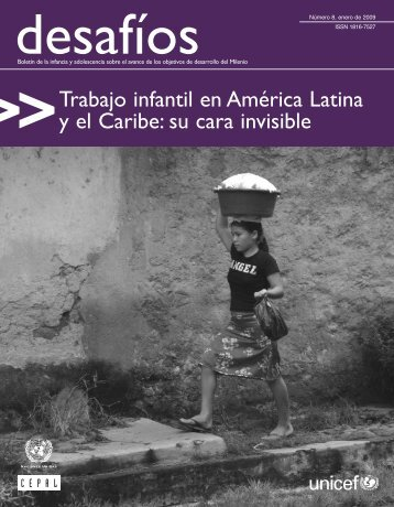 Trabajo infantil en América Latina y el Caribe: su cara invisible - Cepal