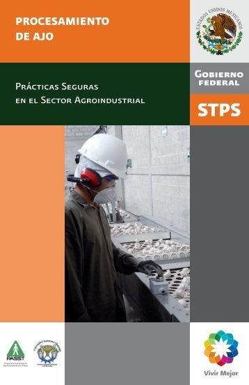 PROCESAMIENTO DE AJO - Secretaría del Trabajo y Previsión Social