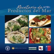 Recetario de Productos del Mar - Elige Vivir Sano
