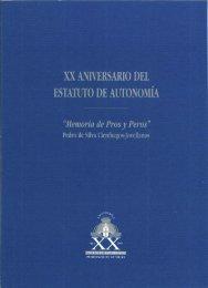 XX Aniversario Estatuto auto. - Junta General del Principado de ...