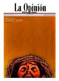 SANTA 2009 SEMANA - La Opinión de Zamora