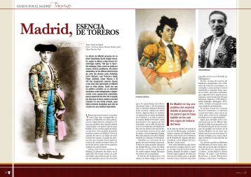 toreros de Madrid - Las Ventas