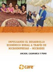 Impulsando el desarrollo económico rural a través de ... - Care Perú