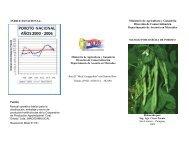 Postcosecha de Poroto - Ministerio de Agricultura y Ganadería