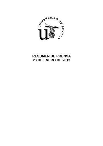 Resumen de prensa 23-enero - Lista de alojamientos institucionales ...