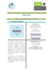 Empresas M Nuevo León - Secretaría de Turismo