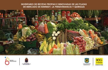 INVENTARIO DE RECETAS PROPIAS E INNOVADAS DE ... - IPES