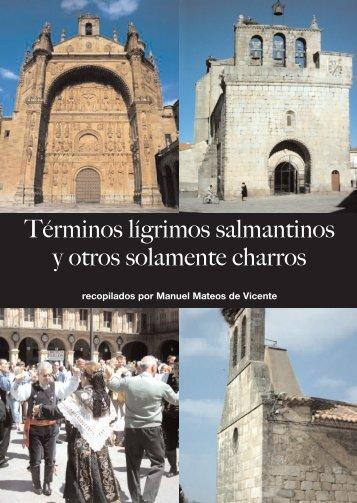 Diccionario Charro - Manuel Mateos de Vicente