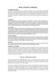 MITOS, LEYENDAS Y CREENCIAS - Fonseca