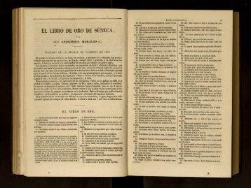 EL LIBRO DE ORO DE SÉNECA, - cdigital