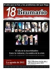 La agenda de 2012 - Grupo Transición