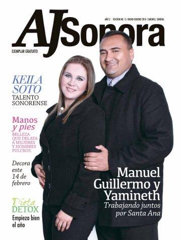 Revista - AJ Sonora