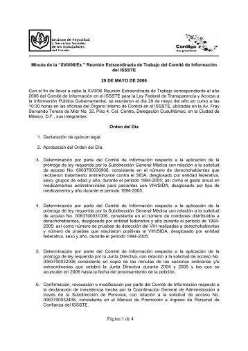 Página 1 de 4 - issste