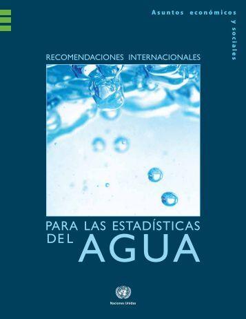 Recomendaciones internacionales para las ... - Naciones Unidas
