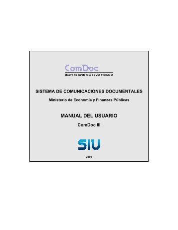 Manual Comdoc III