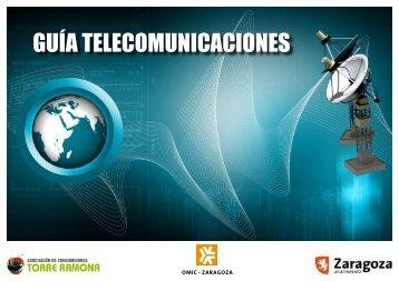 GUÍA TELECOMUNICACIONES - Ayuntamiento de Zaragoza