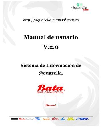 Manual de usuario V.2.0 - AQUARELLA