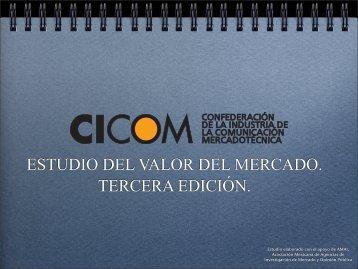 CICOM Estudio del Valor del Mercado 3ra Edición - AMAP